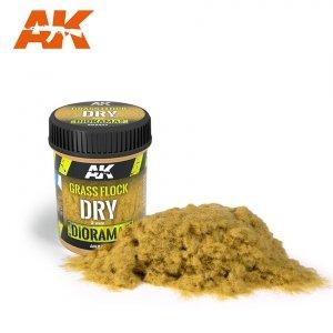 AK Interactive AK 8223 GRASS FLOCK 2MM DRY / Posypka trawa