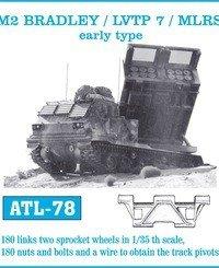 Friulmodel 1:35 ATL-78 M2 Bradley / LVTP 7 /MLRS early type