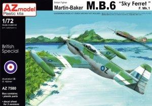 AZ Model AZ7580 Martin Baker MB.6 Sky Ferret (1:72)