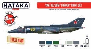 Hataka Hobby HTK-AS111 Yak-38/38M Forger paint set (6x17ml)