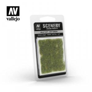 Vallejo Scenery SC424 Wild Tuft – Dry Green