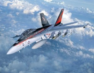 Revell 03847 F/A-18F Super Hornet twinseater 1/32
