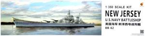 Very Fire VF350911 U.S. Navy Battleship New Jersey (BB-62) 1/350
