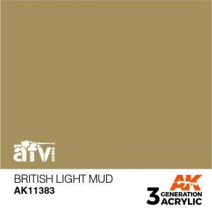 AK-Interactive AK 11383 British Light Mud 17ml