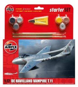 Airfix 55204 De Havilland Vampire T11 Zestaw modelarski