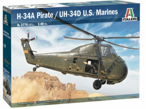 """Italeri 2776 H-34 A """"Pirate"""" / UH-34D U.S. Marines 1/48"""