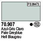 Vallejo 70907 Pale Greyblue (153)
