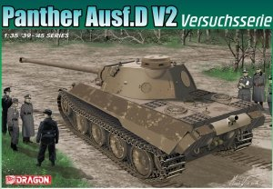 Dragon 6830 Panther Ausf.D V2 Versuchsserie 1/35