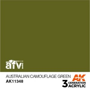 AK-Interactive AK 11348 Australian Camouflage Green 17ml
