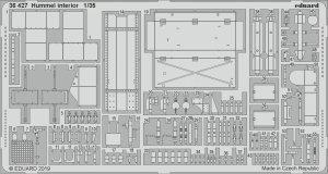 Eduard 36427 Hummel interior 1/35 TAMIYA