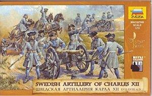 Zvezda 8066 Swedish Artillery of Charles XII 1/72