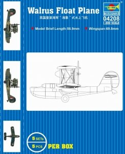 Trumpeter 04208 HMS Walrus Float Plane 1/200