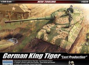Academy 13229 German King Tiger Last Production (1:35)