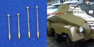 RB Model 1:35 Skrajnik 2 x 13,8mm & 2 x 17,9mm (35A01)