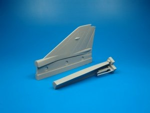 Quickboost QB48035 MIG-21MF vertical tail area Academy 1/48