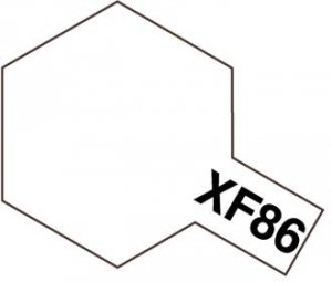Tamiya XF86 Flat Clear (81786) Acrylic paint 10ml