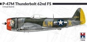 Hobby 2000 72046 P-47M Thunderbolt 62nd Fighter Squadron 1/72