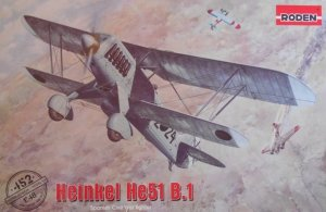 Roden 452 Heinkel He51 B.1