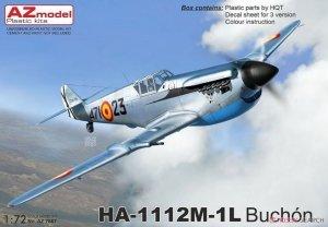 AZ Model AZ7667 HA-1112M-1L Buchón 1/72