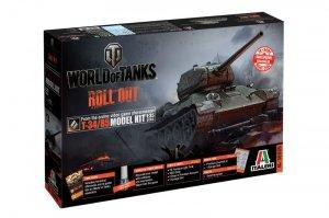 Italeri 36509 World of Tanks -T-34/85
