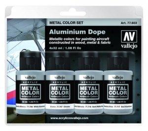 Vallejo 77603 Aluminium Dope 4 x 32ml