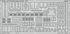 Eduard 481054 B-17F undercarriage & exterior HKM 1/48