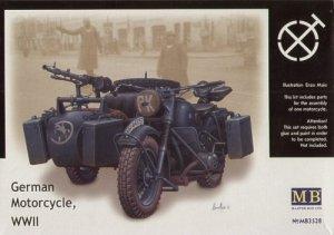 Master Box 3528 German Motocycle WWII (1:35)