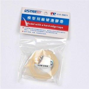 UStar UA-90011-W Scribing Guide Tape w/Hard Edges - White (Width: 9mm; Length: 3m)