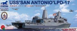 Bronco NB5051 USS San Antonio (LPD-17) (1:350)