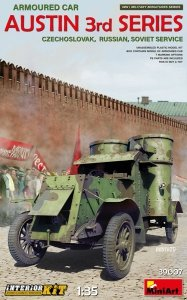 Miniart 39007 Armoured Car Austin 3rd series. 1/35