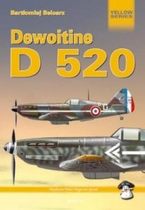 MMP Books 17852 Dewoitine D.520 EN