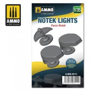 Ammo of Mig 8111 Notek Lights 1/35