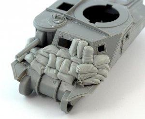 """Panzer Art RE35-548 Sandbags armor for M3 """"Grant"""" (Takom kit) 1/35"""