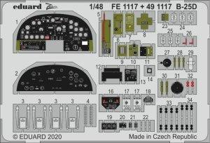 Eduard FE1117 B-25D 1/48 REVELL