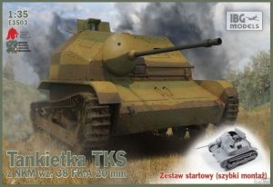 IBG E3503 Tankietka TKS z NKM wz.38 FK-A 20mm (1:35)
