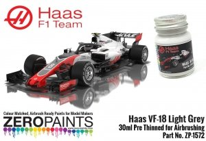 Zero Paints 1572 Haas VF-18 Light Grey 30ML