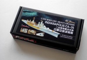 Flyhawk FH350113 WWII USS Heavy Cruiser Indianapolis CA-35 Super Detail Parts (for Trumpeter 05326) 1/350