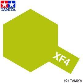 Tamiya XF4 Yellow Green  (81704) Acrylic paint 10ml