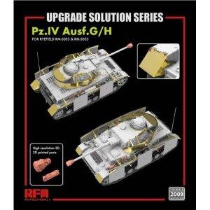 Rye Field Model 2009 Pz.Kpfw.IV Ausf.G/H UPGRADE SOLUTION 1/35