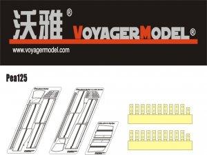 Voyager Model PEA125 WWII German King Tiger Schurzen (For DRAGON Kit) 1/35