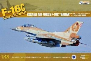 Kinetic K48012 F-16C (Block 40) Israeli Air Force Barak (1:48)