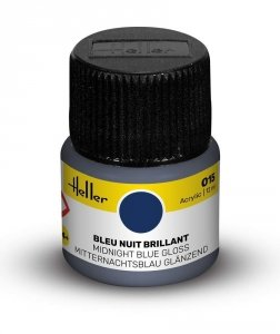 Heller 9015 015 Midnight Blue - Gloss 12ml