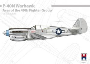 Hobby 2000 48001 P-40N Warhawk Aces of The 49th Fighter Group 1/48