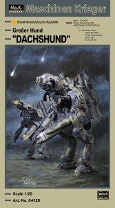 Hasegawa 64120 Humanoid Unmanned Interceptor Großer Hund DACHSHUND 1/20