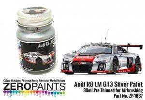Zero Paints ZP-1637 Audi R8 LM GT3 Silver Paint 30ml