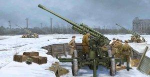 Trumpeter 02341 Soviet 52K 85mm Air Defense Gun M1939 Early Version (1:35)
