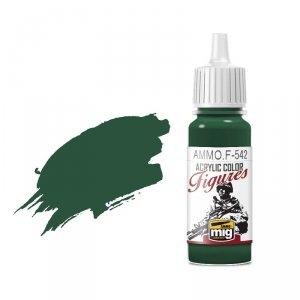 AMMO of Mig Jimenez F542 Phatlo Green 17ml