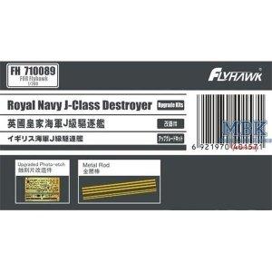 FlyHawk Model FH710089 PE Sheet Upgrade Kits for Royal Navy J-Class (FH) 1/700