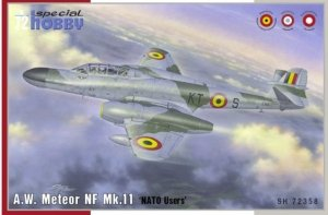 Special Hobby 72358 A.W. Meteor NF Mk.11 'NATO Users' 1/72