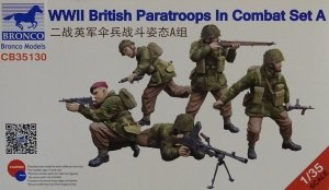 Bronco CB35130 WWII British Paratroops In Combat Set A 1/35